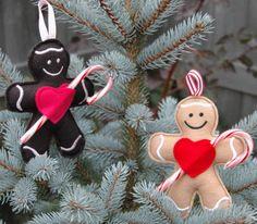New! Gingerbread Candy Cane Holder @ Emb Garden