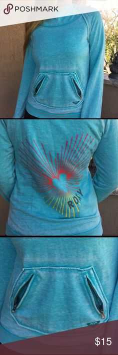 Rocky hoodie Brand new without tags Roxy Sweaters Crew & Scoop Necks