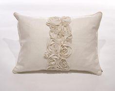 Rose Panel Pillow