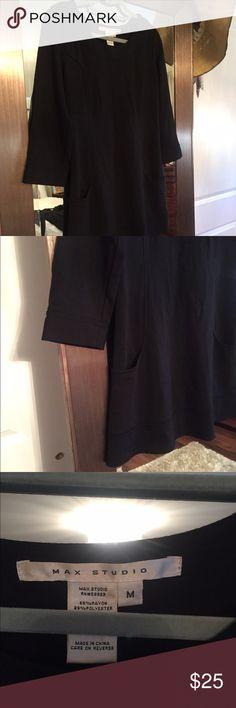 Mini dress Cute mini dress with pockets. Aline.  Great with tall boots Max Studio Dresses Mini