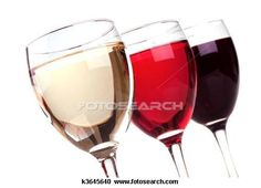 red, rose and white wine anyone?