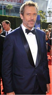 Navy Tuxedo...and.....Hugh Laurie = Dream Wedding