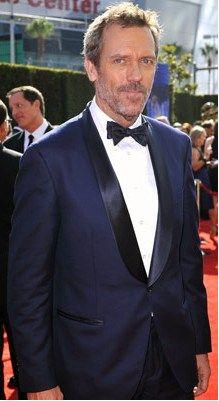 Navy Tuxedo...and.....Hugh Laurie = Dream Wedding