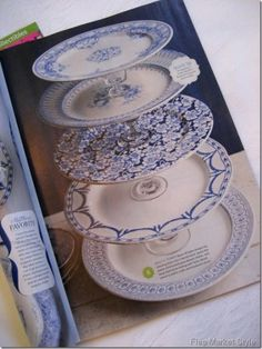 Dwell with Dignity » DIY: Cake Plates