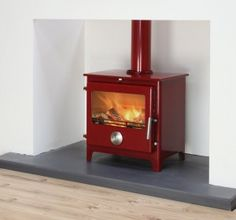 Stoves London - The Better Hearth Navy Living Rooms, Wood Burner, Hearth, Home Appliances, House, Stoves, Enamel, Design, Red