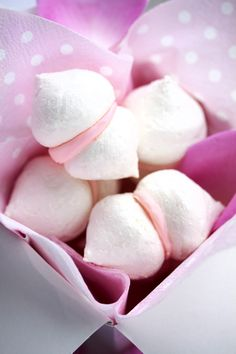 Pink Meringue Butterfly Kisses