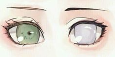 Sakura & Hinata's eyes. In the whole Naruto series i think they have the most beautiful eyes of the females