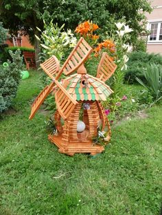 17 Marvelous Garden Decoration Creations