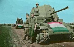 Hungarian Tanks of World War II – Between 1918 and 1945 the Hungarian military designed dozens of advanced Tanks , armored cars And Assault guns before and d. Army Vehicles, Armored Vehicles, Tank Armor, Military Armor, Tank Destroyer, Ww2 Photos, Armored Fighting Vehicle, World Of Tanks, Ww2 Tanks