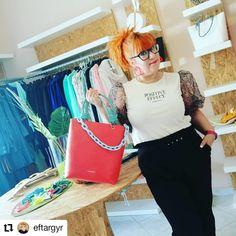 #Repost @eftargyr • • • • • • Και η νέα εβδομάδα ξεκίνησε!!! Καλημέρα από την Ντουλάπα της Sushi... www.sushiscloset.gr  #eftargyr @sushis_closet #newday #sunnyday #sushis_closet #sushiscloset  #loveyourdiversity #greekclothes👗👠👛 Closet, Bags, Style, Fashion, Handbags, Swag, Moda, Armoire, Fashion Styles