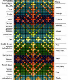 myorgchartb---Fair Isle knitting...