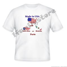 Made in USA with Puerto Rican and Mexican Parts from 1familystore on Square Market