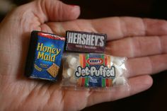 Miniature Smores Tiny Camping Food by AbateArts on Etsy, $7.00