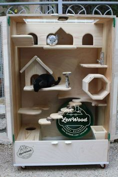 Wooden chinachilla cage by Lenwood Cage Chinchilla, Chinchilla Care, Chinchillas, Degu Cage, Diy Rat Toys, Rat Cage, Animal Habitats, Cool Diy Projects, Diy Stuffed Animals