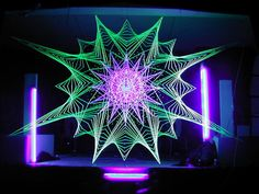 STRING ART WITH LIGHT - Google Search