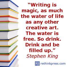 Stephen King - writing magic