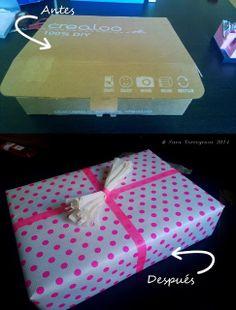 El pegotiblog - hecho a mano: Ideas para envolver regalos de última hora