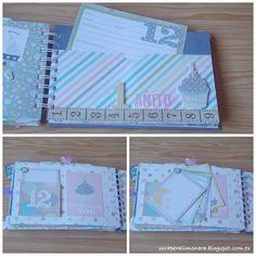 Mini de bebé #scrapbooking #simplestories #minialbum