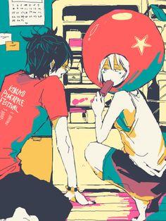 KHR: Mukuro & Fran