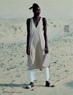 GLOBAL * FASHIONS, Tricia Akello - Marie Claire South Africa December...