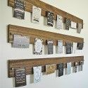 love: wood & wire display