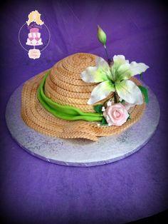 Torta Cappello con fiori