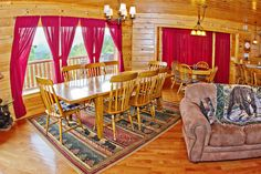 Buckeye Dreamer - A gorgeous 5 bedroom cabin in the Smoky Mountains