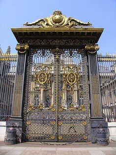 Gate of Palais de Justice, Ile de la Cite, Paris 4e