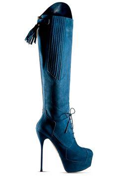 Blue - Fall 2012, John Galliano/Dorothy Johnson
