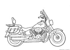 Motorcycles coloring pages Motorcycles. Kids printables coloring pages. Cars Coloring Pages, Coloring Pages For Boys, Coloring Pages To Print, Coloring Sheets, Coloring Books, Mouse And The Motorcycle, Kids Motorcycle, Bike Drawing, Craft Ideas