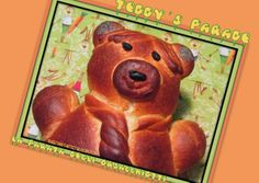 Sweet and That's it: Worldwide Teddy's Parade - La Parata degli Orsacchiotti Teddy Bear, Yummy Food, Bread, Baking, Toys, Sweet, Recipes, Animals, Activity Toys