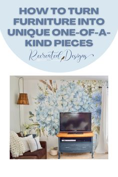 Turn your old and broken furniture into unique one-of-a-kind statement pieces to make your home beautiful on a budget. Vintage Furniture, Unique Vintage, Thrifting, Repurposed, Budget, Make It Yourself, Beautiful, Home Decor, Decoration Home