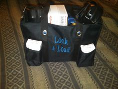 One of my favorite way to tote your gear to the shooting range! There are so many ways to use your Thirty-One products