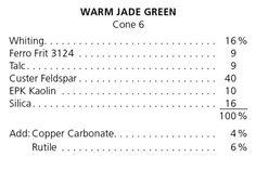 Warm Jade Green ^6