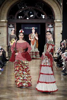 """Trajes de Flamenca Pepa Garrido - Colección """"Contratiempo"""""""