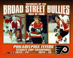 Broad Street Bullies- Bernie Parent, Bobby Clarke, & Bill Barber Photo Print x Historic Philadelphia, Philadelphia Sports, Flyers Stanley Cup, Flyers Hockey, Flyers Players, Hockey Players, Bill Barber, Bobby, Bernie Parent