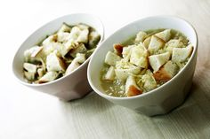 Zupa cebulowa   Onion soup with crouton http://www.codogara.pl/5254/zupa-cebulowa/