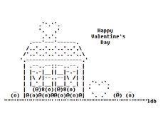 Valentine ASCII Art http://asciiartist.com/2015/01/my-valentines-day-ascii-art/…