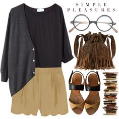 """""""Reading is Pleasure"""" by evangeline-lily on Polyvore, Free Spirit, fringe handbag, STS Ranch"""