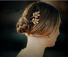 Gold Leaf Hair Clip Cuff Headdress Headband Head Band Jewelry Hair Accessories *** Be sure to check out this awesome product.