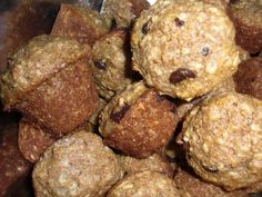Chocolate Chip Bran Muffins Recipe by MIGGLES via @SparkPeople