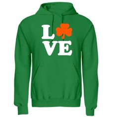 Irish Love: Custom Unisex Gildan Heavy Blend Hoodie - Customized Girl
