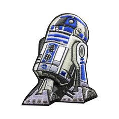 Star Wars R2D2 patches Individuality Hat patches Embroidered Iron-On Patches sew on patches meet you on www.Fleckenworld.com
