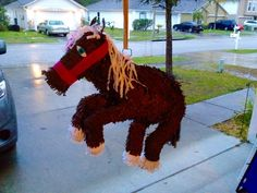 Horse girl pinata