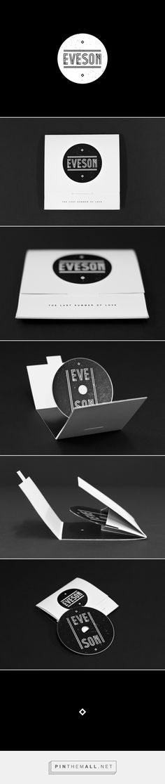 Cd packaging by Kevin Harald Campean