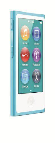 Apple iPod nano 16GB Blue (7th Generation) NEWEST MODEL by Apple, http://www.amazon.com/dp/B0097BEDTC/ref=cm_sw_r_pi_dp_DqIBqb1SCANXE