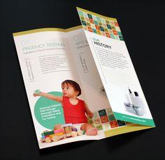 Info-Tox Tri-Fold Brochure by Janna Gilleland, via Behance