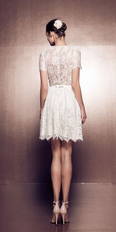 Daalarna short wedding dress | Ballet Collection BLT115