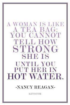 MRS. REAGAN wisdom