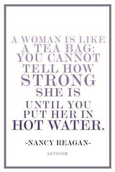 MRS. REAGAN wisdom